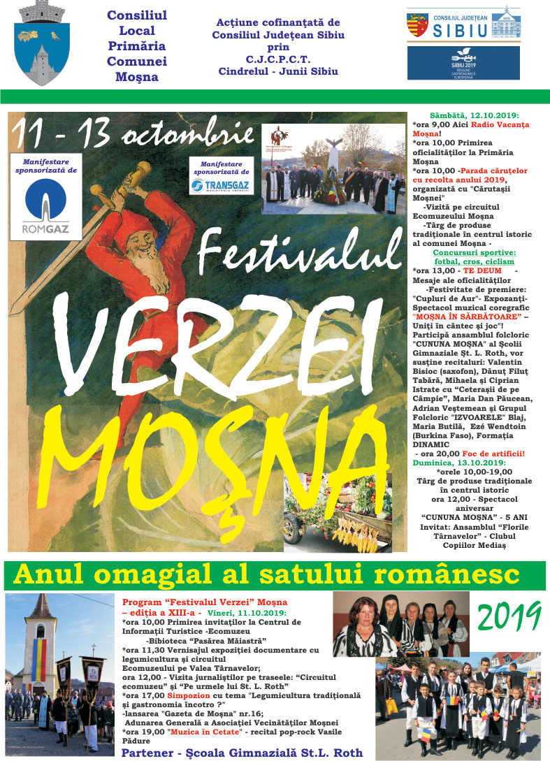 Festivalul Verzei la Mosna